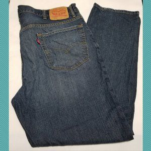 Levi's 550 Dark Wash High Rise Relaxed Fit Jeans